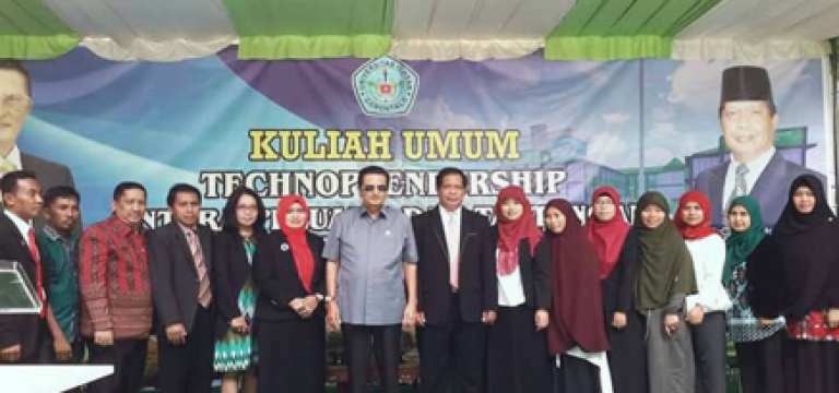 Kuliah Umum Technopreneurship